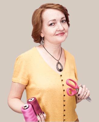 Юлия Златова.Преподаватель школы шитья «Хочу Шить», модельер-конструктор швейных изделий.